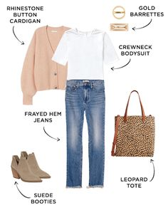 6 Jean Outfits for All Your Weekly Events   The Everymom Summer Work Outfits, Fall Winter Outfits, Spring Outfits, Summer Weekend Outfit, Stylish Outfits, Cute Outfits, Fashion Outfits, Outfits For Mom, Fashion Fashion