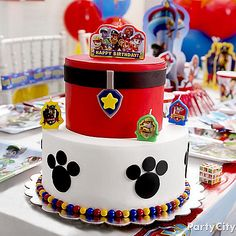 Paw Patrol Party Ideas: Food - Click to View Larger