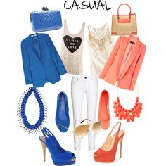 CASUAL, created by lachory on Polyvore