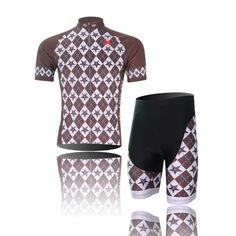 (Type:Set size:S) soft perspiration Comfortable Breathable Set Sportswear pad Short Shirts Shorts Cycling Dry Tops Cool Men Jersey Quick Tights Sleeve >>> Want to know more, click on the image.
