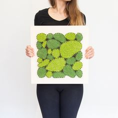 Made in Slovakia Moss Art, How To Make