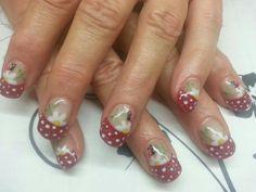 Adorable Ladybug Nails