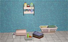 Bathroom Deco from TS4  Download