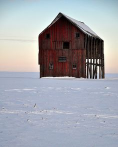 Barn left to stand alone