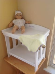Bitty Baby Changing Table found this @ GWBB for $4.00! & American Girl® Dolls: Changing Table Set DONT HAVE MUCH FURNITURE ...