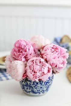 Pink Peonies flowers and bouquets