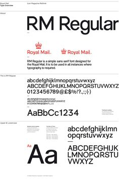 Royal Mail got it's own font. It's like a combination of Helvetica and the DIN. I think I like it :-)