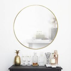 Greyleigh Needville Modern & Contemporary Accent Mirror & Reviews | Wayfair