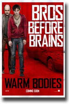 Warm Bodies Movie Poster - $9.84 #NicholasHoult #Warm Bodies