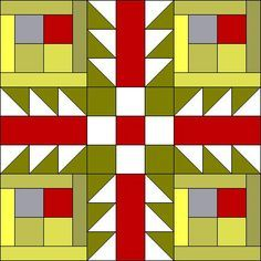 quilt pattern how to tutorial, 18 inch block, free...thank you quilt lady