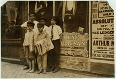 Newsies, Norfolk, VA, 1911. Library of Congress National Child Labor Committee collection
