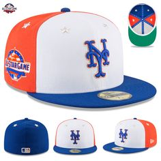 free shipping 541d5 e73e8 Details about New York Mets New Era 2018 MLB All-Star Game On-Field 59FIFTY  Fitted Hat