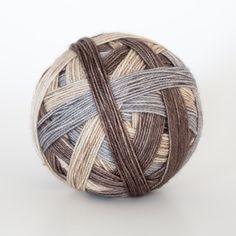 Deer and Doe  Self striping sock yarn by Scrumptiouspurl on Etsy