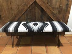 Diy Furniture Renovation, Furniture Makeover, Cool Furniture, Bench Furniture, Furniture Ideas, Western Bedroom Decor, Western Living Rooms, Bench Decor, Entryway Bench