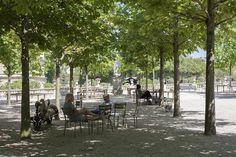 Summer in Paris. Luxembourg Gardens. Merci Briag Courteaux.