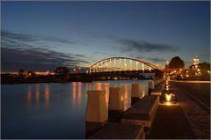 River de IJssel in Deventer Netherland