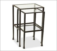 Tanner Nesting Side Tables #potterybarn