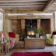 Bunte Land Wohnzimmer Wohnideen Living Ideas Interiors Decoration
