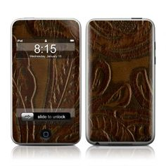 Saddle leather iPod touch 2nd Gen or 3rd Gen Skin