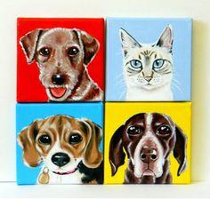 Custom Dog Portrait / Custom Pet Portrait