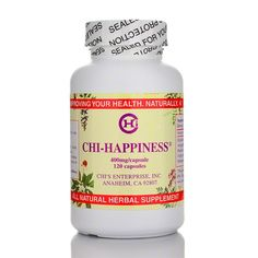 Chi Happiness blocks monoamine oxidase action, increasing serotonin concentration. It also blocks serotonin, norepinephrine and dopamine from being cleared from the synapse, increasing the concentration and effect of these neurotransmitters on the synapse.