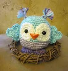 crochet lechuza - Buscar con Google