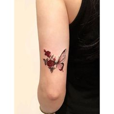 Small tattoo is popular among spring and summer tattoo design this years. If you are inquisitive about receiving a tattoo then you ought to choose one thing that is meaningful. Finding a superb tattoo demands some true preparation. Additional if you' Red Ink Tattoos, Dope Tattoos, Pretty Tattoos, Mini Tattoos, Beautiful Tattoos, Body Art Tattoos, Tatoos, Woman Tattoos, White Tattoos