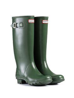 Huntress Wider Calf Rain Boots | Hunter Boot Ltd -- I love the wide calf ones