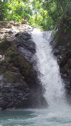 40 foot Waterfall Slide in Costa Rica