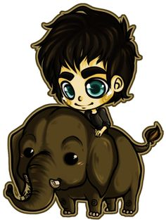 Ian Somerhalder and Dojiwae the elephant