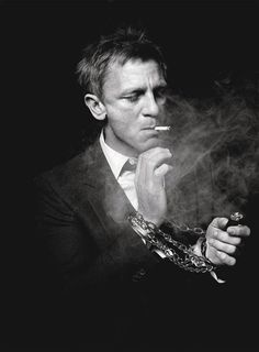 Daniel Craig handsome older man