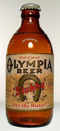 Olympia Beer__old brown bottle