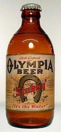 Olympia Beer__old brown bottle