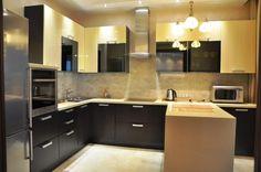 Кухня 14 кв. м. - 70 реальных фото-идей планировки и дизайна