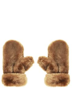 Restyle Mom's old stole? Fur mittens would be cozy; a pair for me and a pair for G. Also consider a fur hat, or a throw for the bedroom.