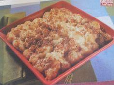 Receita de Couve-Flor com queijo - couve-flor. Regue com um pouco de creme de leite azedo e espalhe metade do queijo ralado. Polvilhe com as sementes de gerelim e repita as...