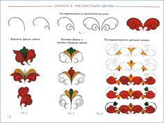 пермогорская роспись доска - Поиск в Google