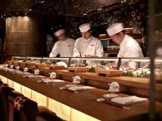 Sushi Bar Design resultado de imagen de sushi restaurant counter design