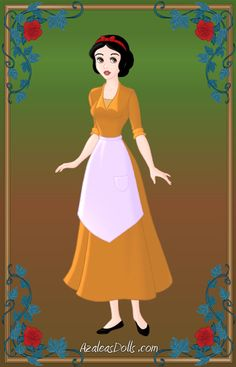 Snow White as Tiana