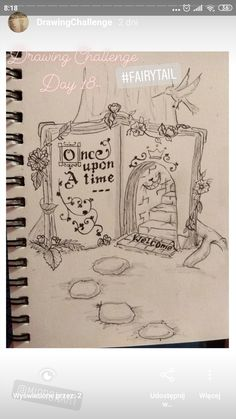 #book, #fairyrail, #unceuponatime, #sketchbook, #mikronart 30 Day Drawing Challenge, Fairy Tail, Drawings, Books, Art, Art Background, Libros, Book, Kunst