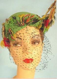 chapéu vintage Bes-ben