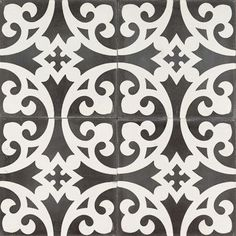 Black Mustard Clover ... Love these tiles for the kids bathroom... Clare S