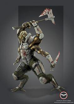 Nexus Brawler Learn More: http://icarusminiatures.com/concept-art-preview-nexus-brawler/