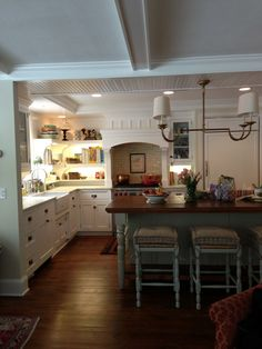 this kitchen is stunning! :: heather strommen's carriage house kitchen