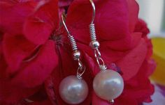Earrings, Sterling Silver 0,925 , Classic Pearls excellent condition Debe's Gems. $10.00