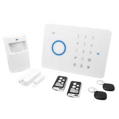 SISTEMA DE ALARMA UNOTEC SAS Sistema completo de Alarma para el Hogar u Oficina. Con este pack de alarma podrás asegurar tu casa/oficina/garage de posibles intrusos no deseados y ser notificado directamente en tu Smartphone.