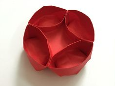 DIY Origami Container: How to Fold a Paper Container to Hold Knick Knacks