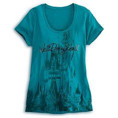 Cinderella Castle Tee for Women - Walt Disney World | Tees, Tops & Shirts | Disney Store