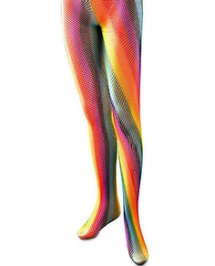 e7d16fe2dbe Rainbow Fishnet Tights. Kim Gamble · Rainbow fancy dress · Hat  Cowboy  Style Ptd Glitter ...