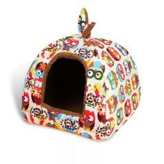Dog Kennel Pet Bed House Small Animals Home Dog House With Mat Hot Fleece Soft Pet Yurt Home Dog Bed Puppy For Dog Cat 0027
